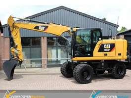 escavadora de rodas Caterpillar M314F  Mobiele graafmachine 2019