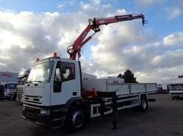 caminhão guindaste Iveco Eurocargo 180E21 + Manual + PTO + Crane 2003