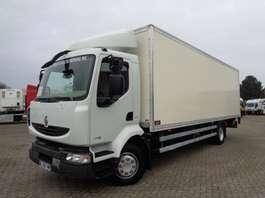 closed box truck Renault Midlum 190 DXI + Manual + LIFT + euro 4 2011