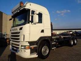 Container-LKW Scania G 440 + EURO 5 + HOOK LIFT + 6X2 + 10 TIRES + NL TRUCK 2010