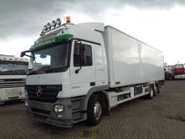 refrigerated truck Mercedes Benz Actros 2532 + chereau + euro 5 + carrier 2008