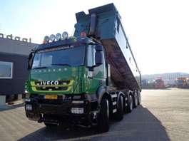 camion à benne basculante Iveco Trakker 450 + Euro 5 + KIPPER + PTO 2008