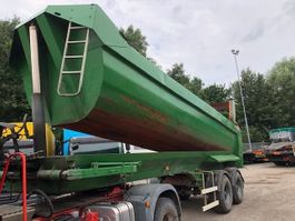 tipper semi trailer Kaiser 2-AS KIEPTRAILER 2003