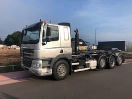 container truck DAF CF 85 460 8x2 FAQ met HIAB 26 tons haakarmsyteem 2013