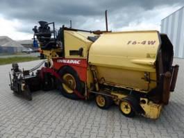 wheeled asphalt paver Dynapac F6 4W 2007
