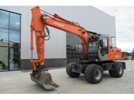 wheeled excavator Hitachi ZX130W 2004