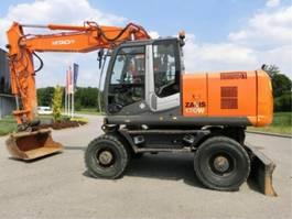 wheeled excavator Hitachi ZX170W-3 2020
