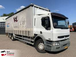 sliding curtain truck Renault HD 320 6x2 schuifzeil euro 3 manual 2003
