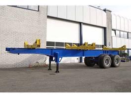 timber semi trailer Legras 11M000 2 AXLE LOGGING TRAILER (4 units) 2020