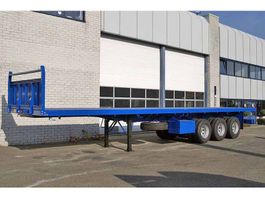 Container-Fahrgestell Auflieger Lohr 40FT 3 AXLE FLATBED TRAILER (10 units)