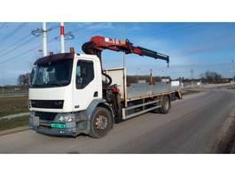 crane truck DAF lf55.220 + HMF 1683 k2 kraan 2001