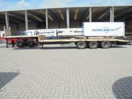 semi lowloader semi trailer Van Hool 32-Z3 1980