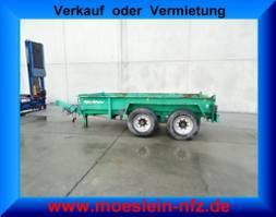 other full trailers Müller-Mitteltal ETM-TA 13,5  Tandem- Muldenanhänger 2008