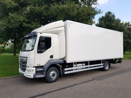 closed box truck DAF LF 230 FA 2019