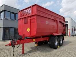 camião basculante com rodas Kempf Krampe BB 540 / Agrarkipper /Silageaufsätze 60cm 2011
