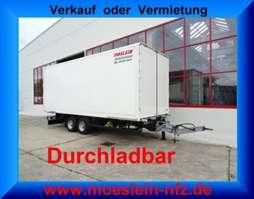 closed box trailer Möslein TKO 105 D Schwebheim  Tandem- Koffer- Anhänger, Durchladbar-- Wenig Benutz 2017