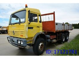 camion a cassone ribaltabile > 7.5 t Renault G300 - 6x4 1991