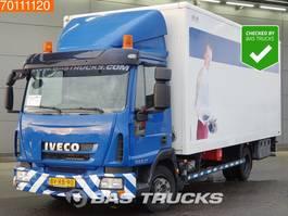 closed box truck > 7.5 t Iveco ML80E18 4X2 Manual Ladebordwand Euro 5 2008
