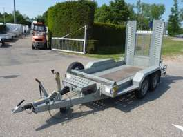 flatbed car trailer Brian James machinetransporter 2015