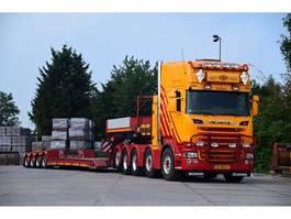lowloader semi trailer Faymonville faymonville DIEPLADER 4 asser + DOLLY 2-ASSIG  extendable 2011