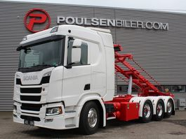 container truck Scania R500 8x4*4 2019