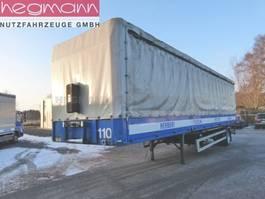 tilt car trailer Schmitz Cargobull SPR 10, Schiebeplane mit Bordwänden, Edschaverdeck 1995
