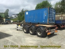 Container-Fahrgestell Auflieger Van Hool 93er Van Hool 30ft Container Chassis Semitrailer 3 Achs ABS 1993