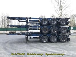 Container-Fahrgestell Auflieger Lag 3x ADR Tank Containerchassis 3 Achs BPW 0-3-39 CD 2001