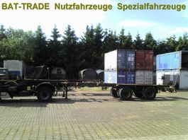 Container-Fahrgestell Auflieger 2-Achs High Cube Containerauflieger 40Ft 1970