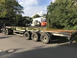 Container-Fahrgestell Auflieger Blumhardt Blumhardt - SAL 40.24E 40ft Containerchassis blatt/molas/spring 2020