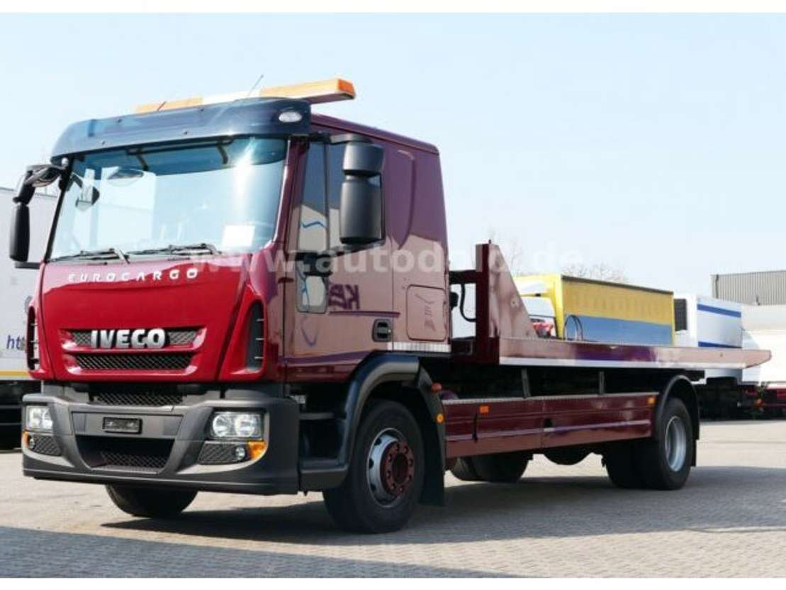 Iveco 140e28 Eev Eurocargo Schiebeplateau Doppelstock Car Transporter Truck Trucksnl Com