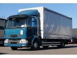 tilt truck Renault Midlum 220 DXi LBW Pritsche Plane LBW Euro 5 2011
