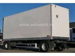 closed box trailer Lecitrailer Koffer Rolltor Scheibenbremsen BWP-Eco L: 7,70 m 2011