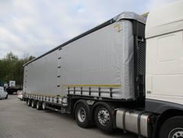 semi lowloader trailer Meusburger 4-Achs-Jumbo-Semi mit Planenaufbau