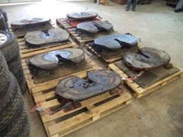 Other truck part DAF Saddle with plate