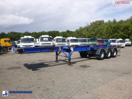 Container-Fahrgestell Auflieger SDC 3-axle container trailer 20-30-40 ft 2008