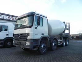 concrete batching plant Mercedes Benz Actros 3236 B 8x4 Betonmischer Stetter 9m³