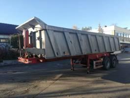 tipper semi trailer Carnehl 2 Achs KIPPSANH Hinterkippmulde luftgefedert BPW