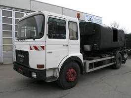 cysterna MAN 19 281 BREINING Spritzrampe Asphalt Bitumen Tank 1983