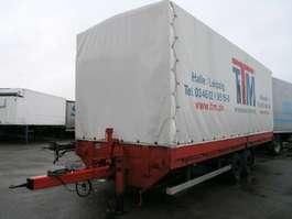 прицеп с наклонной платформой TPA 105 Tand. Pritsche+Plane 7.950 kg Nutz!
