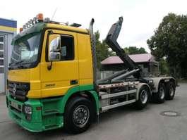 roro tractor unit Mercedes Benz 3858 BB 8X4 Abroll schwere lange Ausführung 2006