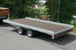 flatbed full trailer Stema Carrier XL Plattformanhänger Minibagger 2019