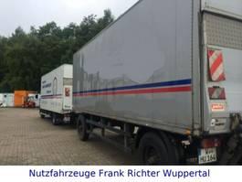 Koffer PKW-Anhänger Kofferanhänger mit LBW, gute Bereifung