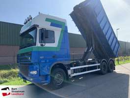 camión contenedor DAF XF95 480 SSC 6x2 steelsuspension manual 2003