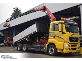 грузовая платформа MAN TGS 26.360, 17 t/m HMF, Euro 5, 6x2, Truckcenter Apeldoorn 2010