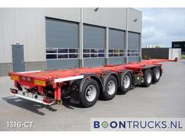 container chassis semi trailer Nooteboom CT53-05D COMBITRAILER 2002