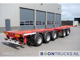 container chassis semi trailer Nooteboom CT53-05D | COMBITRAILER 20-30-40-45ft 2002