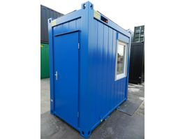 isolated shipping container Winters 1,4 x 2,4m - 5ft Bureaucontainers