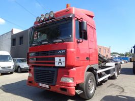 container truck DAF 95 XF 480 6x2 cable system 2005