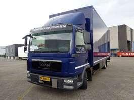closed box truck MAN TGL 8.180 + euro 5 2012